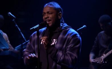 Kendrick Lamar umlčel všechny kritiky živým vystoupením s novou skladbou. Kochej se krásou hip-hopu