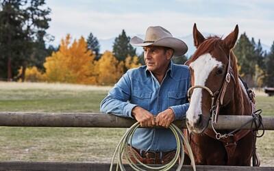 Kevin Costner v Yellowstone od tvorcu Sicaria či Wind River. Westernový seriál poteší drsnou atmosférou a krásnym vizuálom