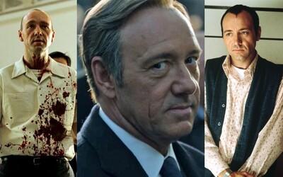 Kevin Spacey - brilantný oscarový herec, ktorý obľubuje a vyžíva sa v záporných rolách
