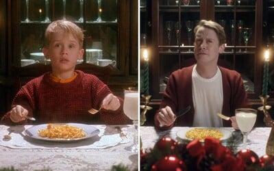 Kevin ze Sám doma po letech ožil ve známých scénách. Macaulay Culkin se zamýšlí, jak by postava žila v dospělosti