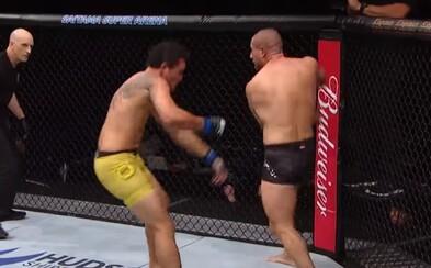 Kickboxer sa prvýkrát predstavil v UFC a hneď zničil súpera nečakaným knockoutom. Henrique da Silva doplatil na veľkohubé vyhlásenia