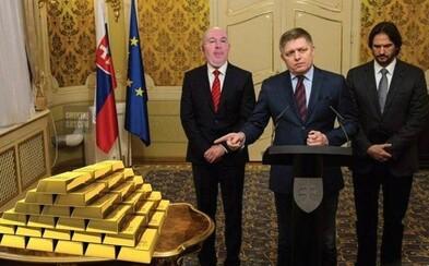 Kičurove zlaté tehly v trezore bavia Slovákov. Prázdnu špajzu máme, lebo on má plnú chladničku