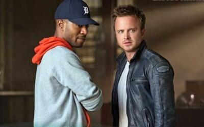 Kid Cudi a Jesse z Breaking Bad na obrázkoch z Need for Speed filmu!