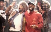 Kid Cudiho komentáre nahnevali Kanye Westa. Ten mu na svojom koncerte venoval zopár slov a rovnako sa zachoval i Drake