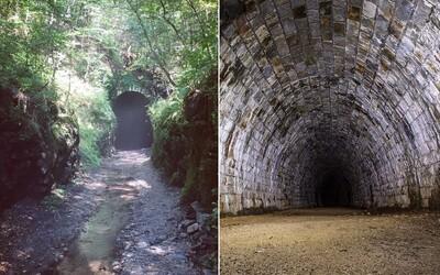 Kilometre dlhý tunel desí turistov i miestnych. V Slavošovciach na východe leží opustená stavba plná duchov a najčernejšej tmy
