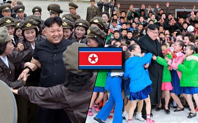 Kim Čong-un a jeho setkání se Severokorejci. Podívej se na propagandistická videa z dílny izolované země