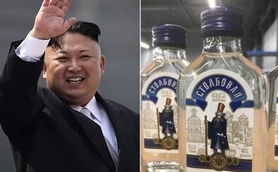 Kim Čong-un si objednal 90 000 lahví vodky. Zabavili mu je holandští celníci