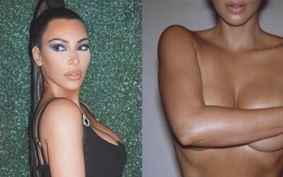 Kim Kardashian se při tvorbě nového parfému inspirovala vlastním nahým tělem