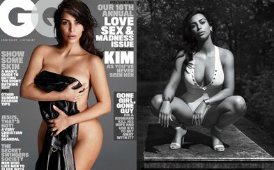 Kim Kardashian se svlékla do naha, aby zapózovala pro GQ. Podívej se na vzrušující fotografie