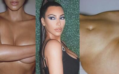 Kim Kardashian ukázala pri promovaní svojho parfému takmer úplne všetko. Tvoja fantázia nebude musieť zafungovať vôbec
