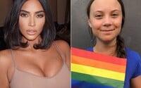 Kim Kardashian vzdáva hold Grete Thunberg. Tvrdí, že je odvážna a úžasná, chce sa stretnúť s jej rodičmi