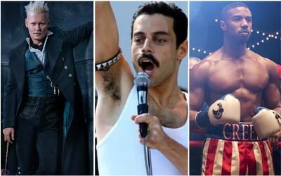 Kiná v novembri rozpáli Freddie Mercury, Dumbledore, Grindelwald a Fantastické zvery či Rockyho krvavé rady v Creed 2