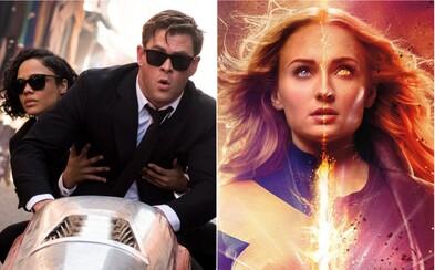 Kinám bude v júni dominovať posledný X-Men film a taktiež návrat Mužov v čiernom