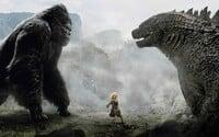 King Kong sa v spoločnom filme postaví gigantickej Godzille!