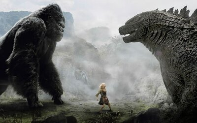 King Kong se ve společném filmu postaví gigantické Godzille!