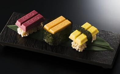 KitKat bude v Japonsku nabízet sushi. V Tokiu si na speciální edici oblíbené sladkosti lidé pochutnají už za pár dní