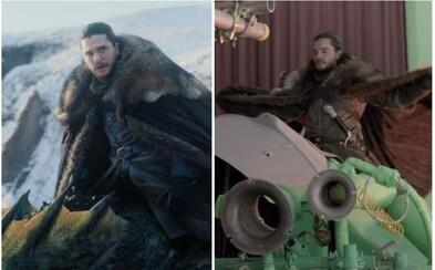 Kitovi Haringtonovi sa počas jazdy na drakovi zasekol pravý semenník. Ako sa natáčala nebezpečná scéna s pomocou CGI?