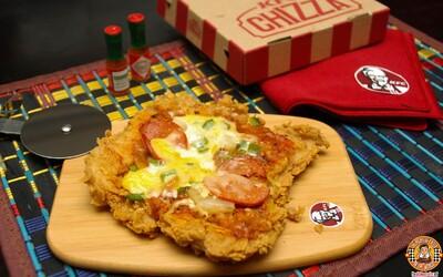 Klasická pizza má vážneho konkurenta. O rozruch sa postarala sieť KFC