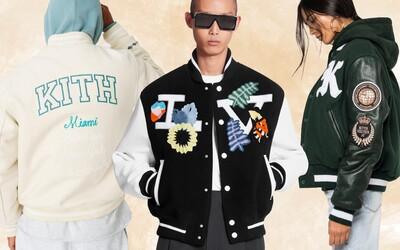 Klasické Varsity bundy sú späť a v ponuke ich majú aj módne domy na čele so značkou Louis Vuitton