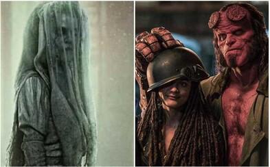 Kliatba kvíliacej ženy pokračuje v dominancii hororov zo sveta Conjuring. Hellboy sa zase stáva prepadákom roka (Box Office)