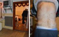 Klienti z domova sociálních služeb na Slovensku žili v otřesných podmínkách. Lidi prosili o jídlo a v pokoji měli exkrementy