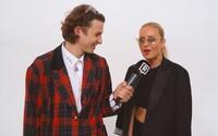 Klučičí sukně jsou nový trend. Na MBPFW jsme vyzpovídali Simonu Krainovou i Vandu Jandu
