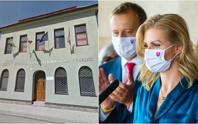 Kmotríkovej vysokej škole v Skalici hrozí zánik. Pochybne tam získali tituly Kollár či Krištúfková