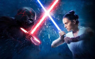 Knights of the Ren konečne v akcii! Kylo Ren a Rey zvádzajú súboje so svetelnými mečmi a vo vesmíre sa črtá bitka storočia