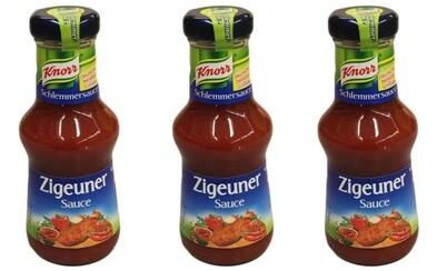 """Knorr přejmenuje svou """"cikánskou omáčku"""". Stane se z ní """"papriková v maďarském stylu"""""""
