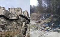 Kocúrkovo na slovenský spôsob: Pod Strečnom vodiči nechali 2 tony odpadu a fľaše plné moču