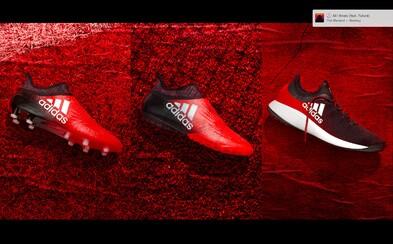 Kolekcia futbalovej obuvi Red Limit od adidasu ponúka stabilitu aj komfort pre tých najlepších