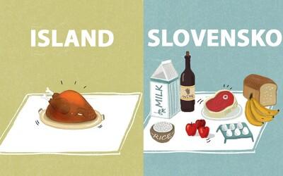 Kolik potravin si koupíš za 20 dolarů v zemích po celém světě? V Moldavsku můžeš hodovat, ale na Islandu se sotva najíš