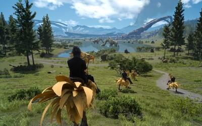 Kolosální Final Fantasy XV si tě svým kouzlem a množstvím obsahu podmaní na dlouhé desítky hodin, příběhem však nenadchne (Recenze)