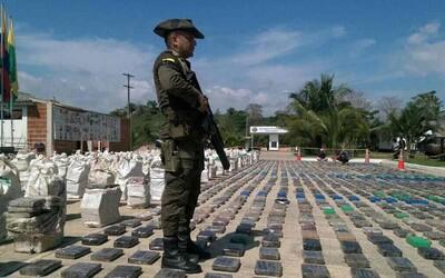 Kolumbia hlási najväčšiu protidrogovú akciu v histórii krajiny. 8 ton zadržaného kokaínu však Escobarovi konkurovať nemôže