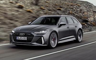 Kombi raketa Audi RS6 Avant dostává zcela nový vzhled a techniku