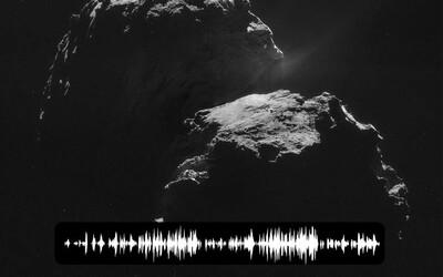 Kometa, na které ESA včera přistála se svou sondou, děsivě zpívá