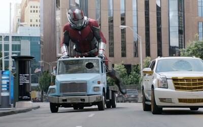 Komiksovke Ant-Man and The Wasp rozhodne nebude chýbať ani množstvo akcie, čo dokazuje takmer 70 obrázkov z traileru