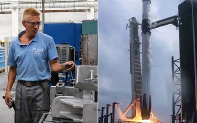 Komponenty do rakety Crew Dragon vyvíjala pre NASA a SpaceX aj spoločnosť z Detvy