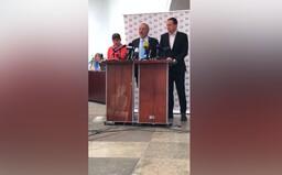 """Komunistům někdo promítl na pultík Miladu Horákovou. """"Je to popírání demokratického principu,"""" uvedla mluvčí strany"""