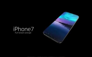 Koncept iPhonu 7 s displejom po celej ploche od talentovaného Slováka preráža do sveta
