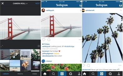 Konec jen čtvercovým fotografiím, Instagram přichází s revoluční aktualizací