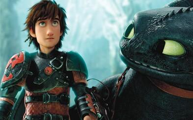 Konečne! Ako si vycvičiť draka 3 dostalo oficiálny názov, dátum premiéry a vieme aj to, že Bezzubka nájde ďalšieho Nočného besa