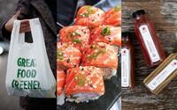 Konečne sushi bez plastov! Sushi Time dáva radikálne zbohom plastovým príborom, taškám a obalom