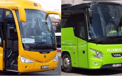 Konflikt mezi RegioJetem a FlixBusem nabírá na obrátkách. Český dopravce vyhrožuje přesunem všech autobusů do Německa