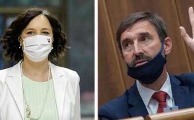 Konflikty členov vlády neprispievajú k dôvere spoločnosti, tvrdia Juraj Blanár a Veronika Remišová