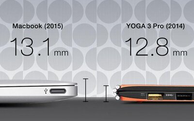 Konkurenti Applu vysmiali nový MacBook: Ich počítače sú tenšie, lacnejšie a majú aj jemnejší displej