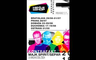 Kontrafakt, Majk Spirit aj Separ. Festival Hip Hop Žije 2018 zverejňuje prvé tri mená, ktorými sú hlavné piliery slovenského rapu