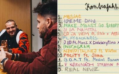 Kontrafakt zverejňuje kompletný tracklist k albumu Real Newz. Počuť na ňom budeme aj Dalyba, Sameya a Simu