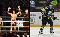 Kopal hroby, no teraz hrá hokej a venuje sa boxu. Multišportovec Jozef je na ľade obávaným bojovníkom (Rozhovor)