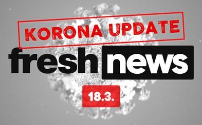 KORONA UPDATE: Na Slovensku máme 105 prípadov nákazy koronavírusom. Európska únia zatvára hranice